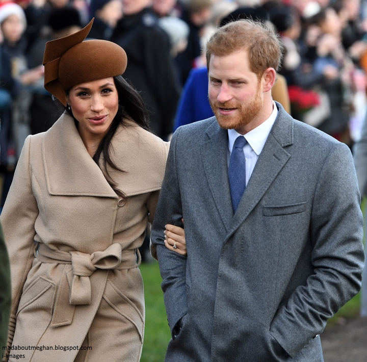 Meghan Markle Christmas.Mad About Meghan Harry And Meghan Spend Christmas At