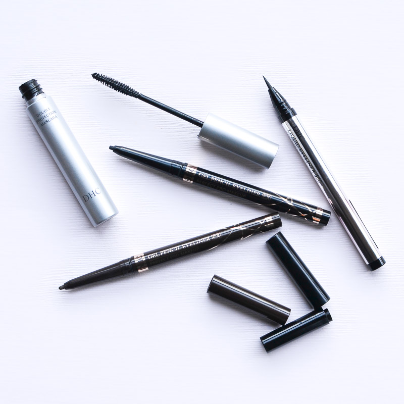 DHC Makeup - Liquid Eyeliner Pen - Gel Pencil - Perfect Pro Double Protection Mascara