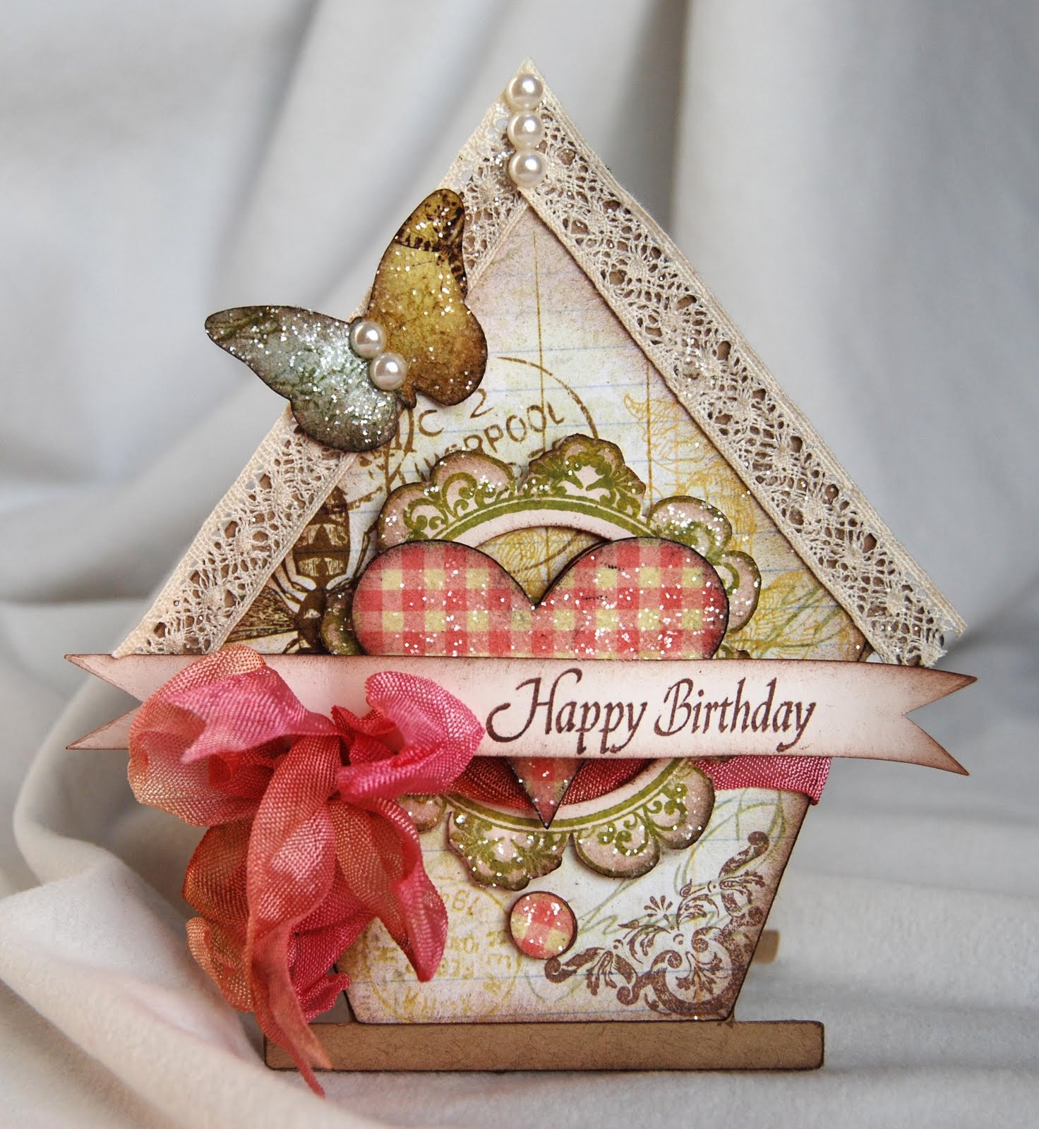 Thoughts Of A Cardmaking Scrapbooker!: Happy Birthday Kellie