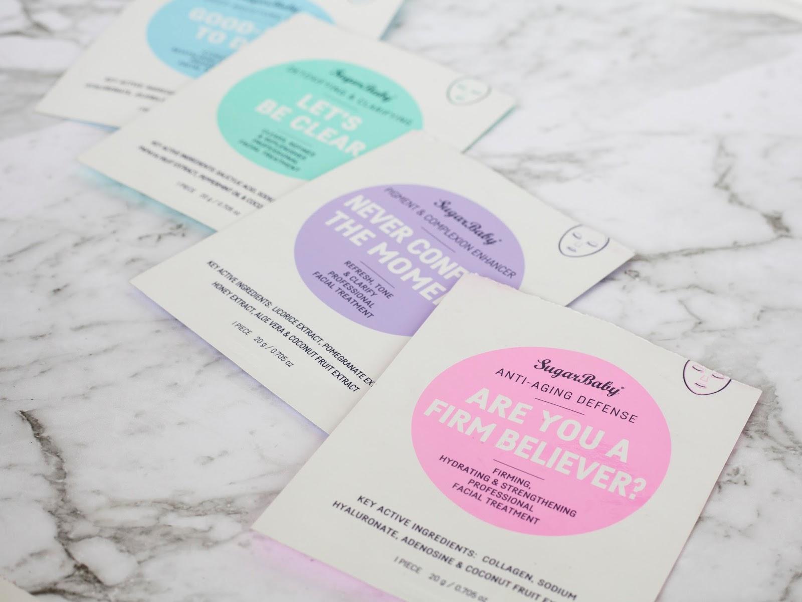 Sugar Baby Sheet Masks — The Life of Laura