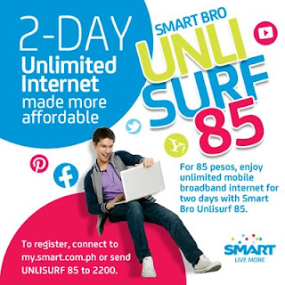 Smart Bro UnliSURF 85