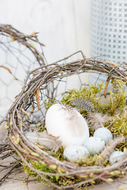 Osterkörbe selbstgemacht, DIY, Pomponetti