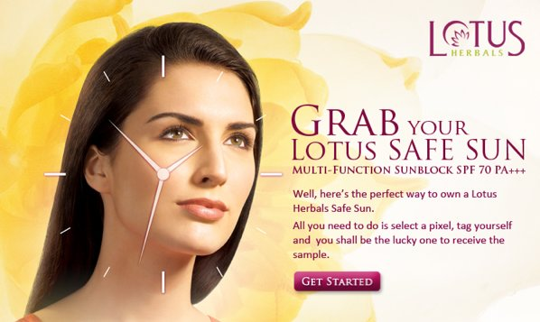 Free Sample of Lotus herbals safe sunscreen