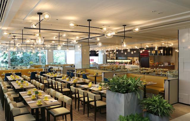 Impressive buffet at the brand new lemon garden shangri for Design hotel kl