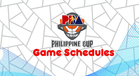 List 2017-2018 PBA Philippine Cup Game Schedules/Team Standings/Scores