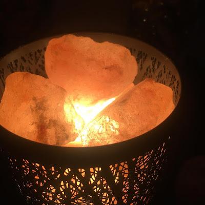 Lámpara de Sal del Himalaya de Zanflare