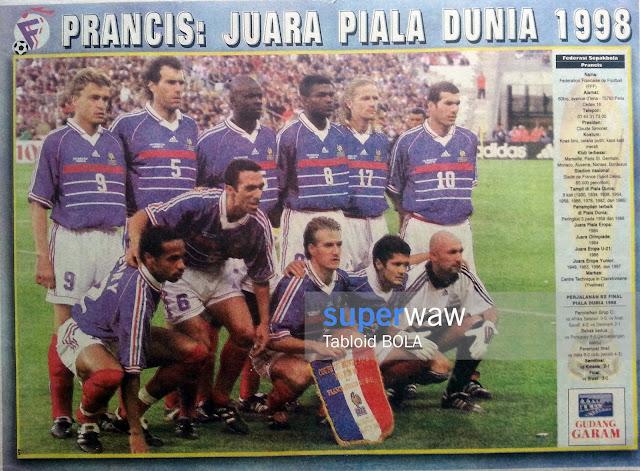 Poster Tim Prancis 1998