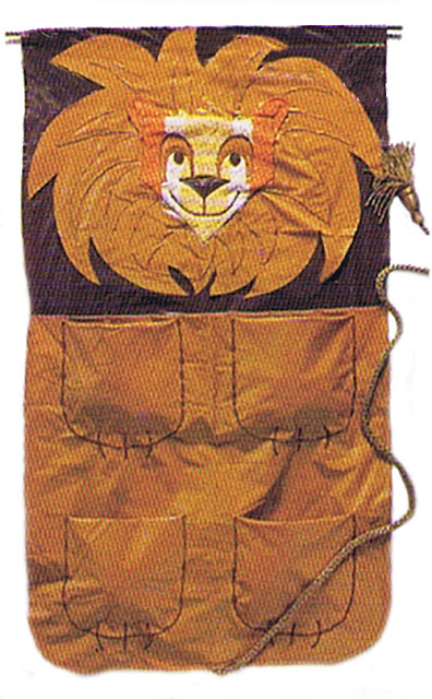 How-To: Lion Shoe and Laundry Bag