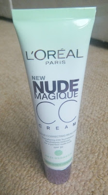 L'Oreal  CC Cream, L'Oreal Nude Magique, Colour Correcting Cream, Anti Redness