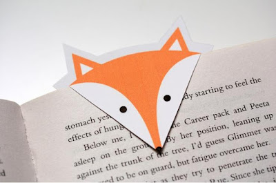 DIY Fox Bookmark