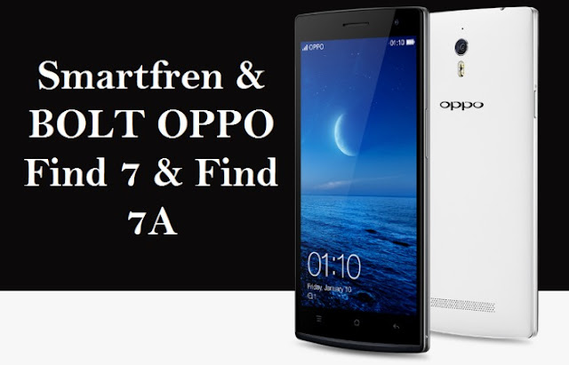Cara mengatasi Oppo Find 7/7a bricked, stuck di logo dan bootloop