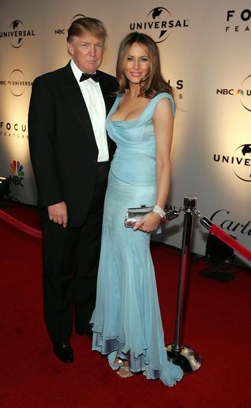 Melania Trump vestido azul