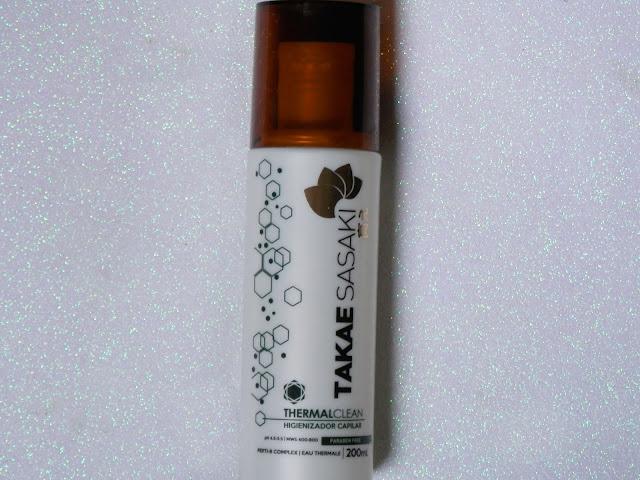 Resenha: Termal Clean - Higienizador Capilar da Takae Sasaki