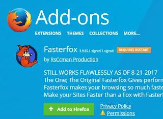 Mengatasi Loading Mozilla Firefox Lambat