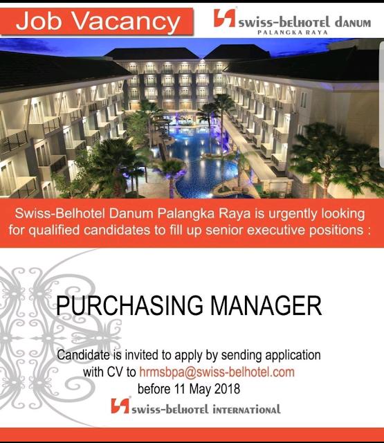 Info Lowongan Kerja Hotel