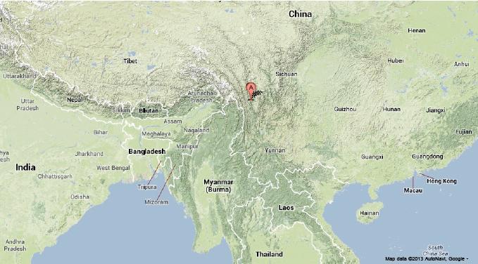 Czeshop Images Hindu Kush Mountains World Map