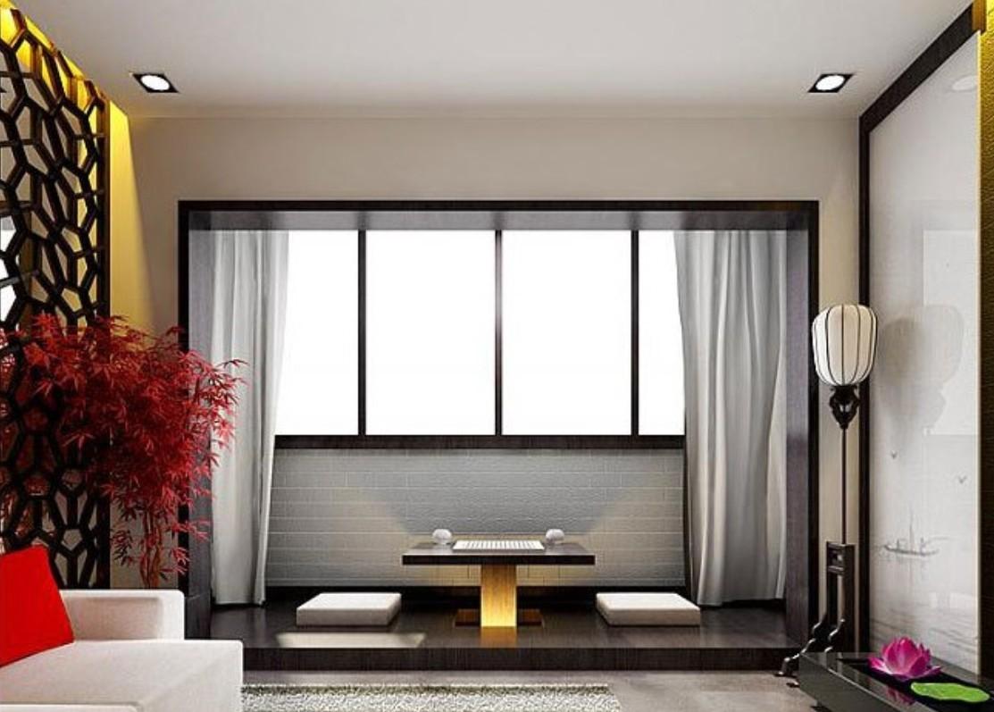 50 Desain Interior Ruang Tamu Minimalis Gaya Jepang