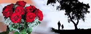 Gambar Bunga Mawar Merah Sampul Facebook