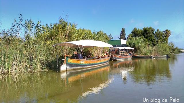 Barcas de paseo