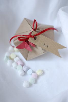 bomboniere origami