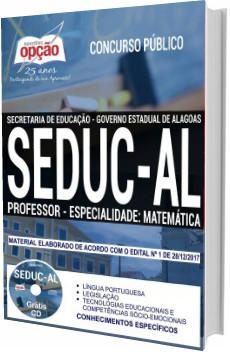 Apostila Concurso SEDUC-AL 2018 Professor de Matemática