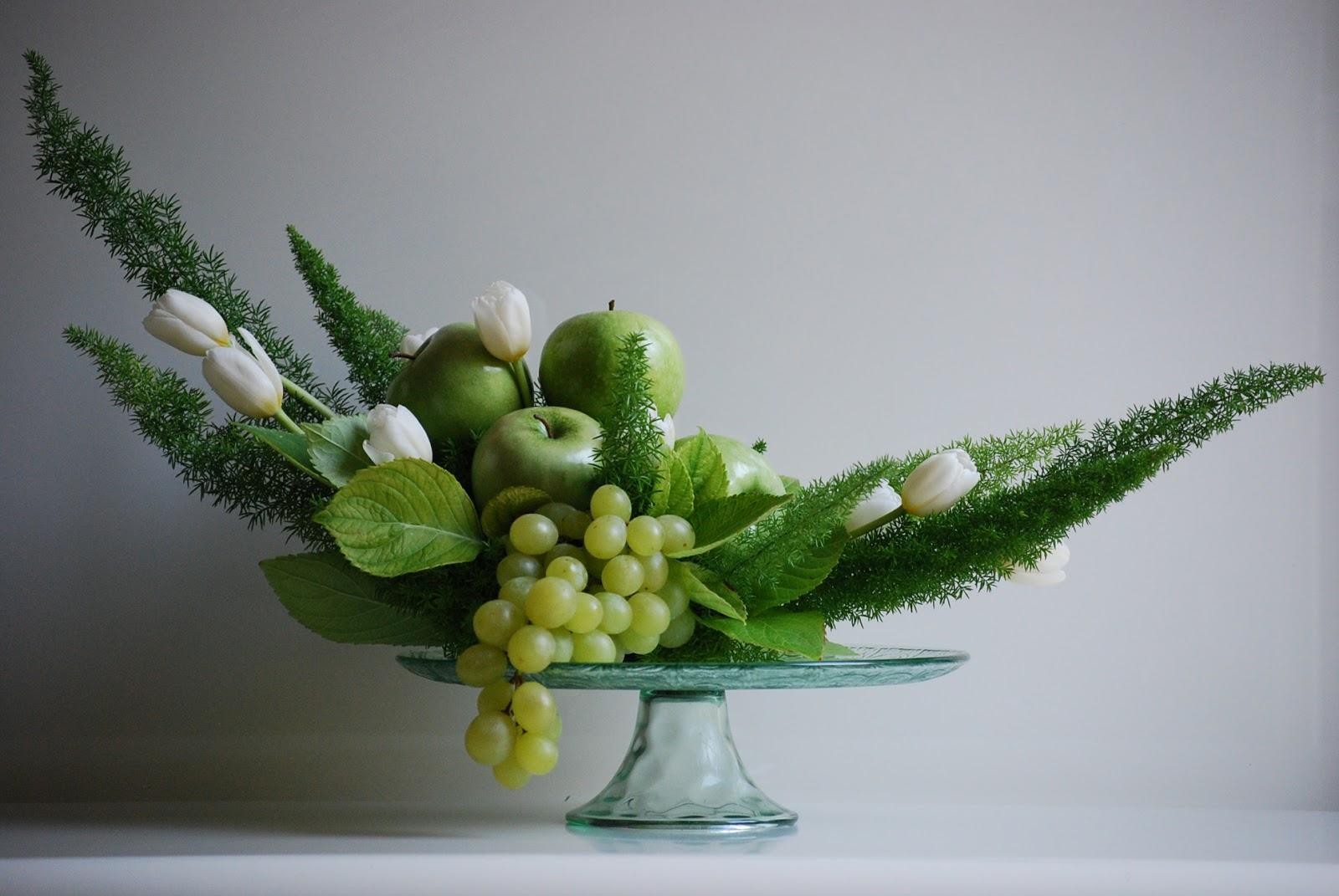 Fior déco: Verde e bianco