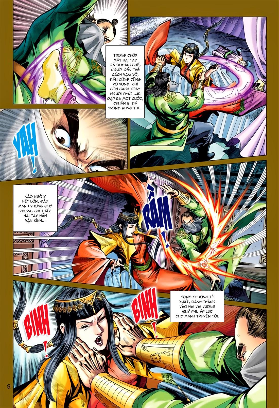 Anh Hùng Xạ Điêu anh hùng xạ đêu chap 78: sát anh trang 9