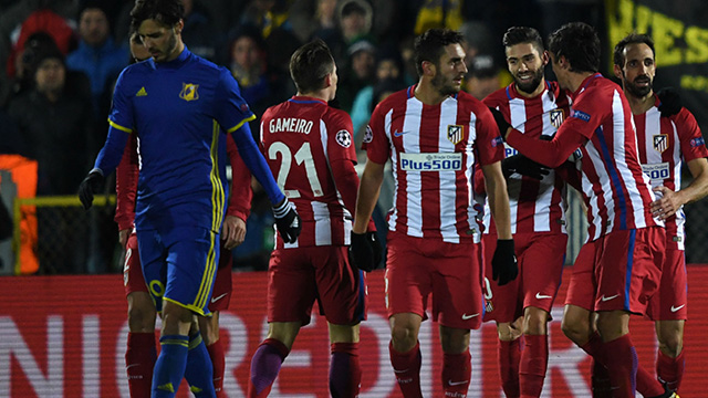 [Video] Cuplikan Gol FC Rostov 0 - 1 Atletico Madrid (Liga Champions)