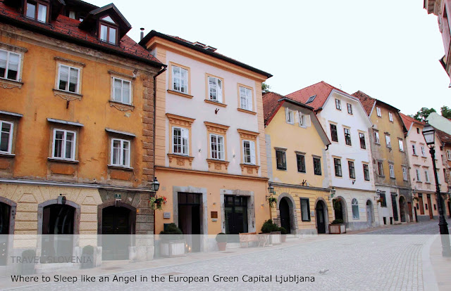 Travel Slovenia. Where to sleep like an angel in the European Green Capital Ljubljana
