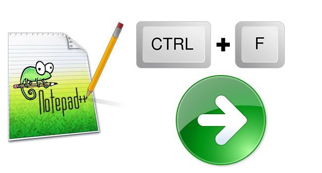 NotePad Plus İle Belgede Benzer Cümle Arama-www.ceofix.com