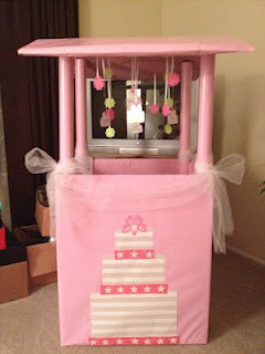 Bridal Shower Wishing Well- The Creative Confectionista
