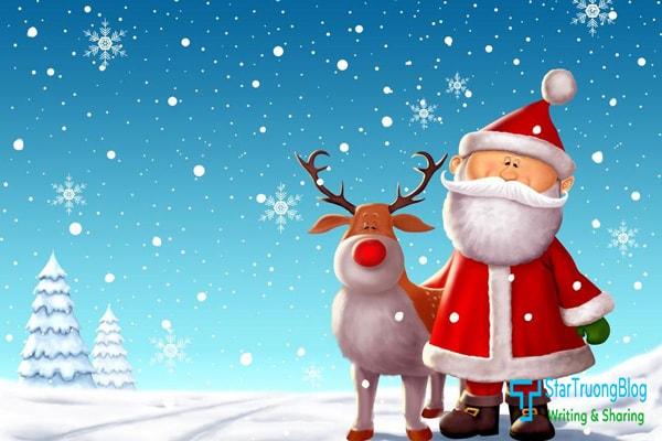 Trang trí mùa Noel cho blogspot bằng một số hiệu ứng tuyết rơi