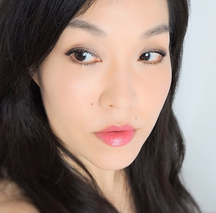 L'Oreal Shine Lipstick Polished Tango review swatch
