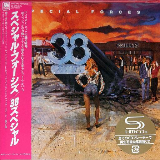 38 SPECIAL - Special Forces [Japan Ltd. mini LP / SHM-CD remastered] (2018) full