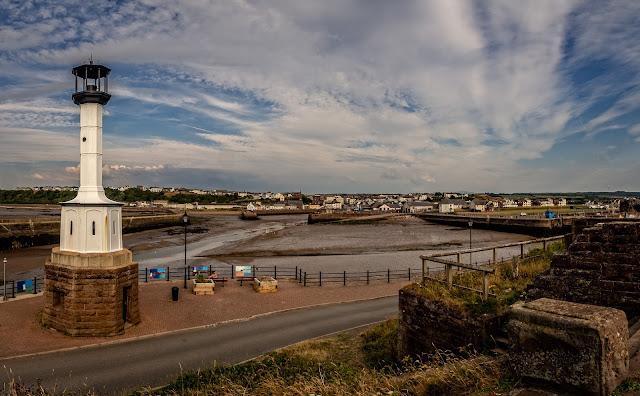 Photo of Maryport last Friday - the last day of fine weather before the rain arrived