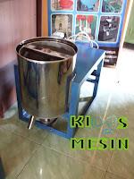 mesin peniris minyak bawang goreng, mesin spiner bawang goreng