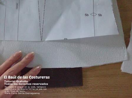 Tutorial de costura y molde de vestido 127 Burda Style Baul Costureras