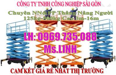 Thang nâng điện/ thang nâng người đơn/ đôi. cam kết giá rẻ, LH 0969735088