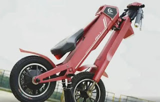 scooter, fold-able scooter, high speed mobility scooter