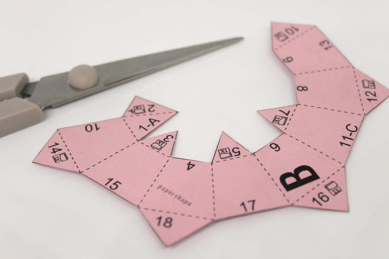 DIY Origami Ostereier aus Papier ganz einfach selber machen - süße Osterdekoration