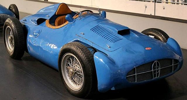 Bugatti T251 1950s classic GP car
