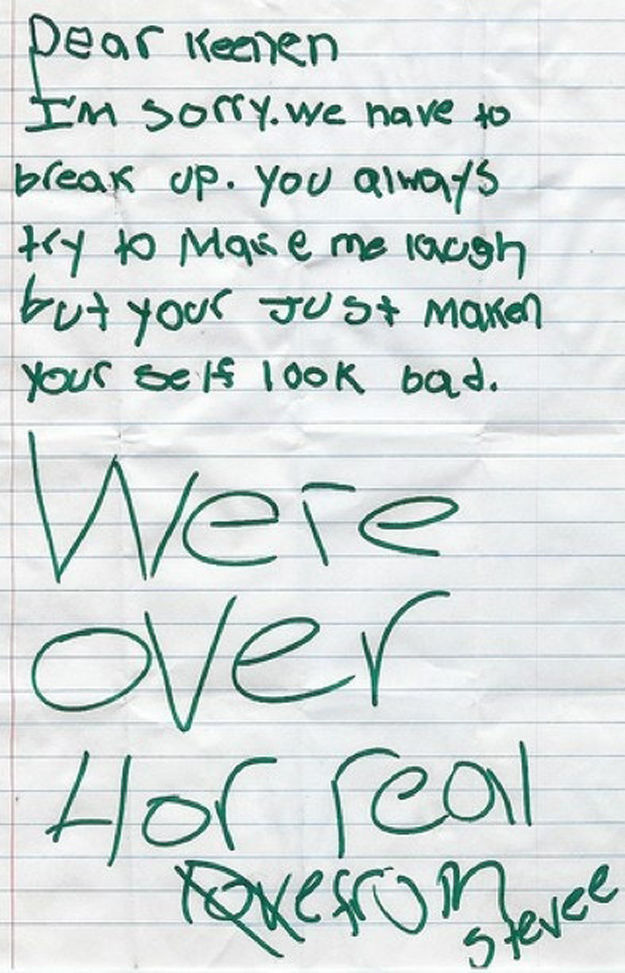 Breakup Letters You Should Be Happy You Didn\u0027t Receive (18 Pics
