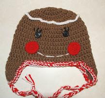 Free Crochet Pattern For Gingerbread Man Hat : Amys Crochet Creative Creations: Crochet Gingerbread Man ...