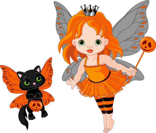 Halloween Fairy clipart gif graphics animated images for Kids ...