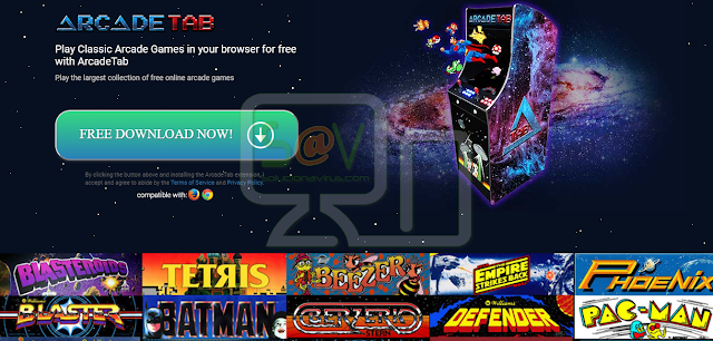 Arcade Tab (Adware)