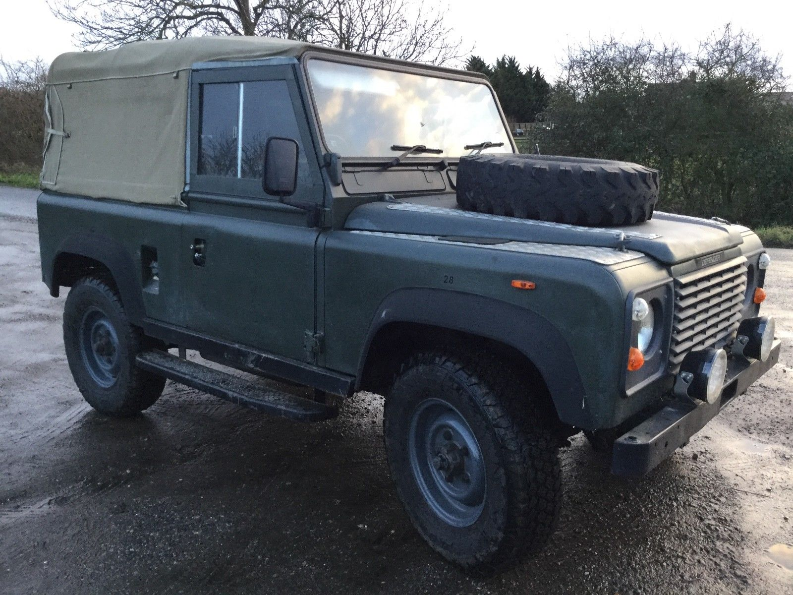 Landrover Defender Land Rover 90 Superb And Smart Ex Clutch Older Invoices In File To Show Brakes Calipers Work