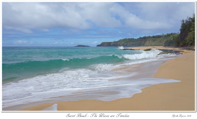 Secret Beach: The Waves are Timeless