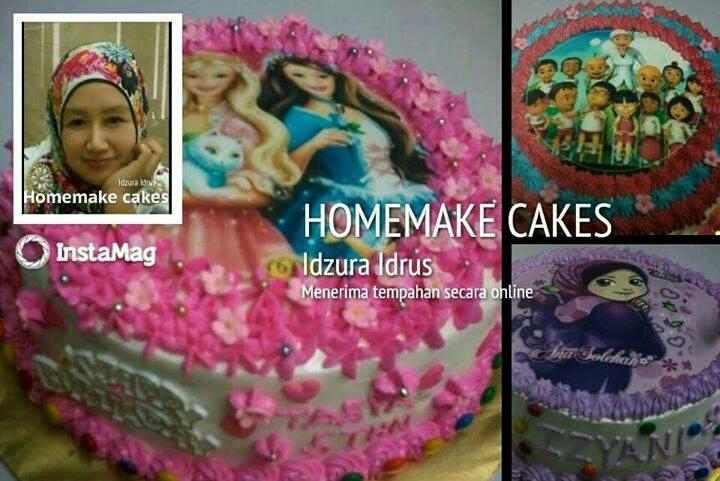Tempahan Kek Zura Cakes Di Taiping Perak