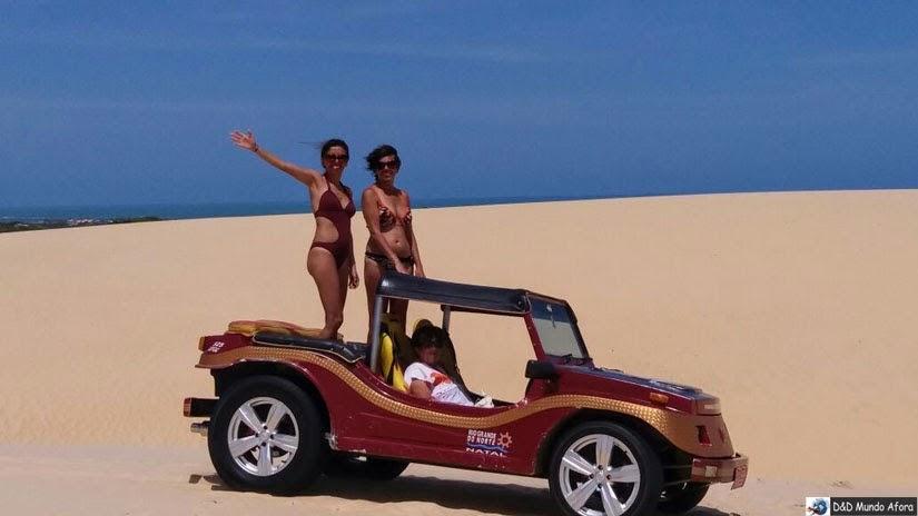Passeio de buggy pelo litoral Norte de Natal - RN