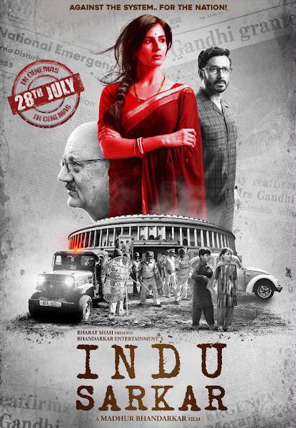 Poster of Indu Sarkar (2017) Full Movie In Hindi 720p HDRip Free Download